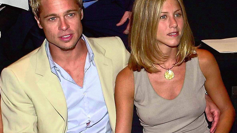 Brad Pitt y Jennifer Aniston en una imagen de archivo. (Gtres)