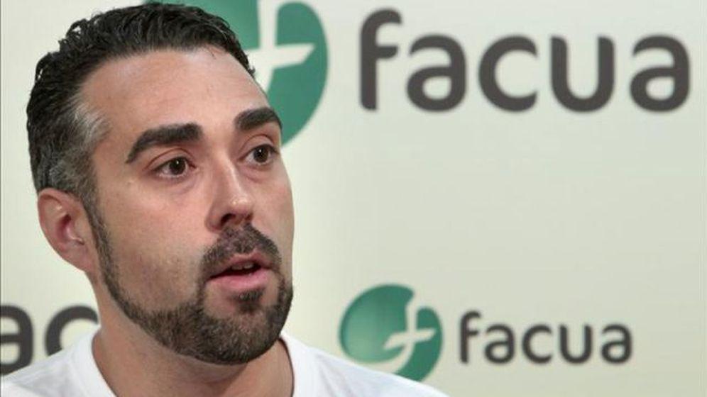 Foto: Rubén Sánchez, portavoz de Facua. (EFE)