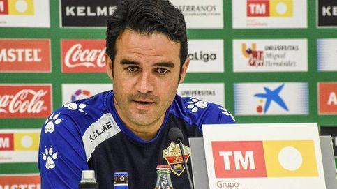 El Elche destituye de forma fulminante a Alberto Toril como entrenador