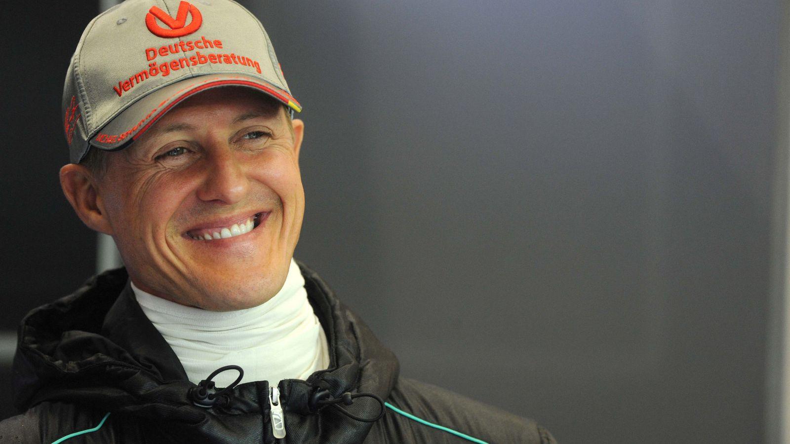 Foto: Michael Schumacher, en una foto de archivo, en 2012. (Reuters)