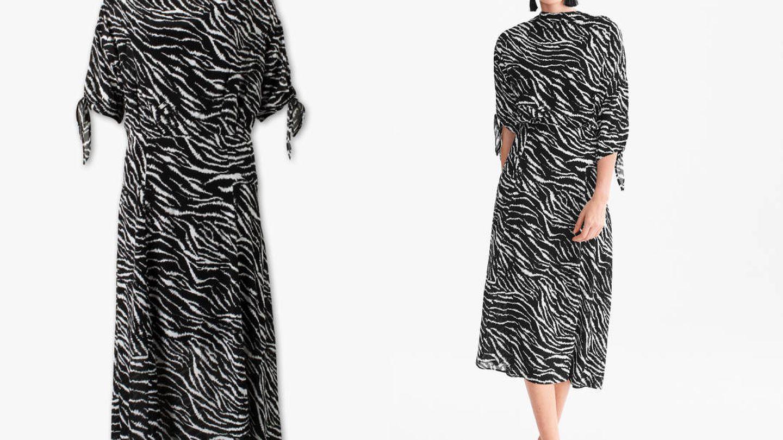Vestido de cebra de C&A (39,90€).