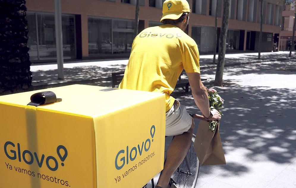 Foto: Un repartidor de Glovo. (Glovo)