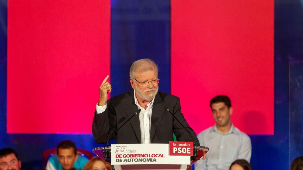 Foto: El expresidente extremeño Juan Carlos Rodríguez Ibarra (Efe)