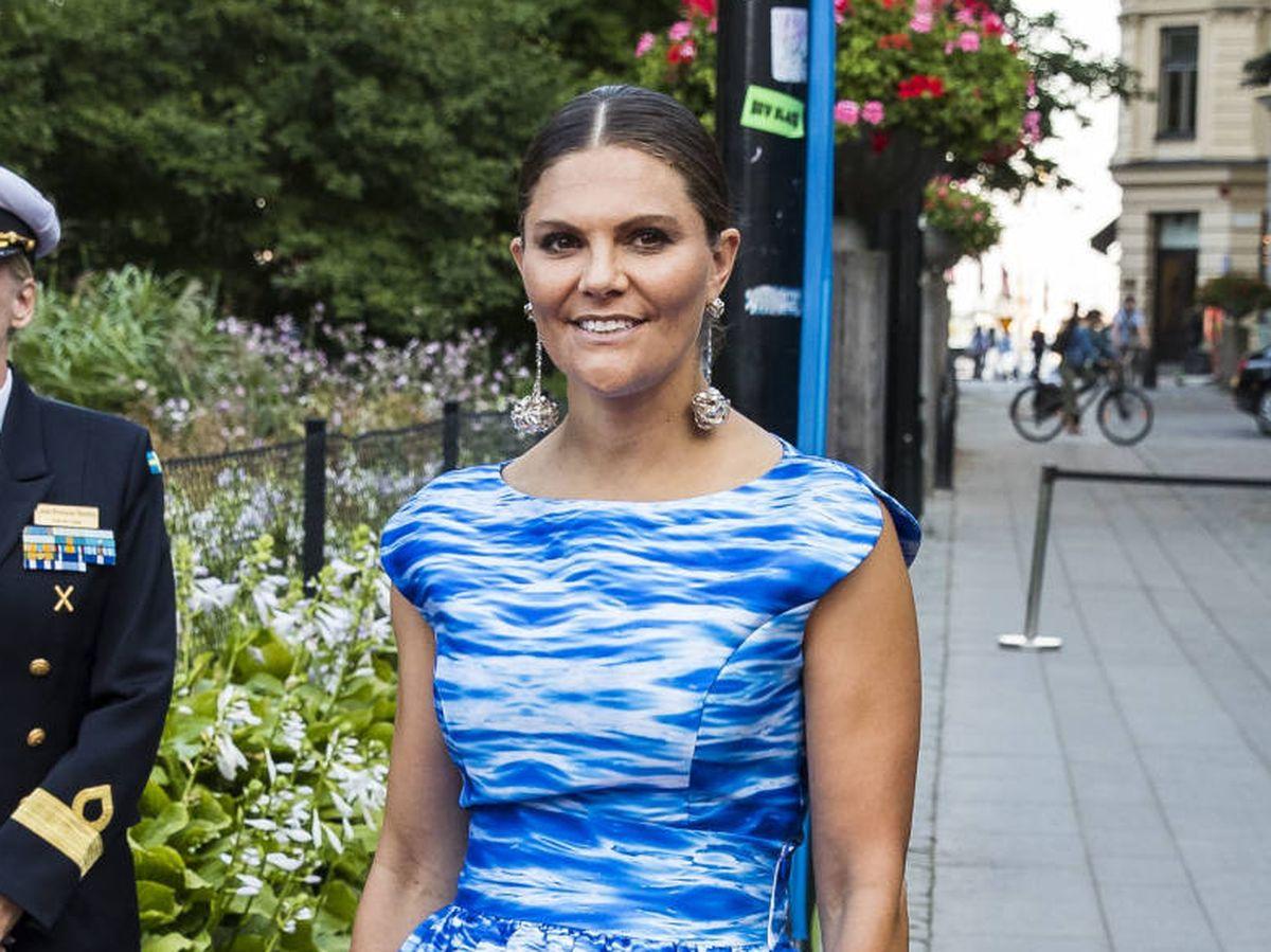 Foto: Victoria de Suecia, en los Premios del Agua. (Getty)