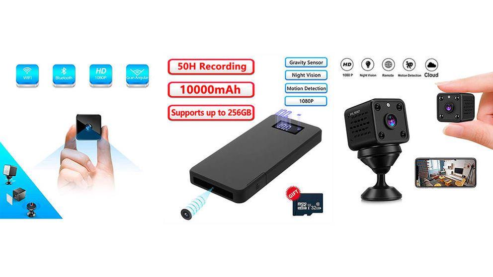 Las mejores cámaras espía del mercado para tenerlo todo controlado