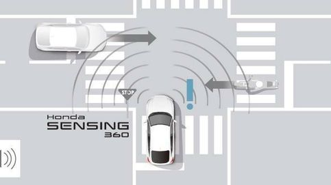 El nuevo sistema de seguridad Honda Sensing 360 se libra de los ángulos muertos