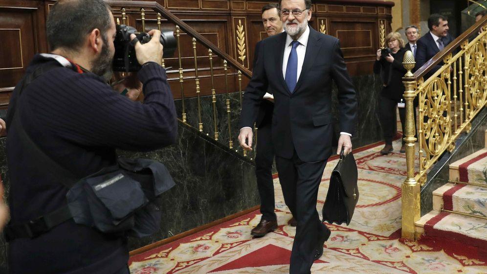 Foto: Mariano Rajoy, en un pleno del Congreso. EFE Chema Moya