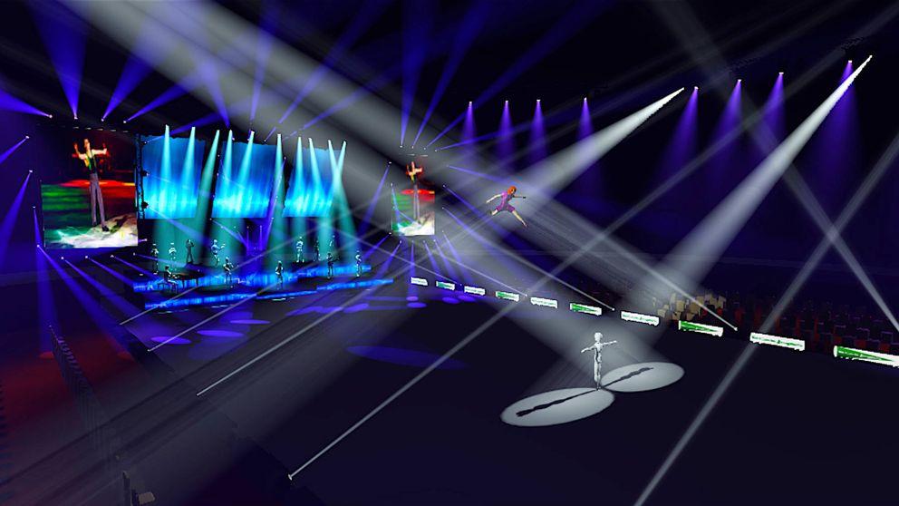 Música, baile... El gran desafío de Javier Fernández sobre una pista de hielo