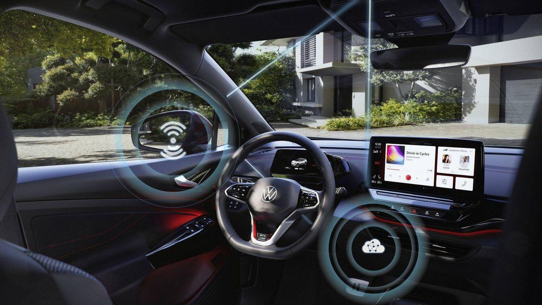 El 'software' de los Volkswagen eléctricos ya se actualiza por transferencia móvil de datos