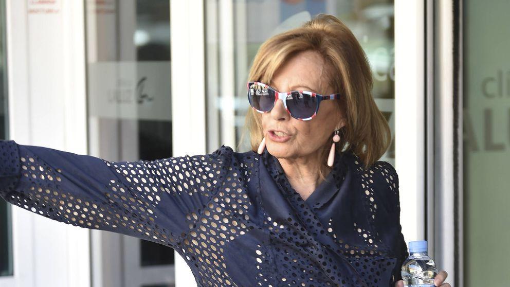 María Teresa Campos, ingresada tras sufrir una isquemia cerebral