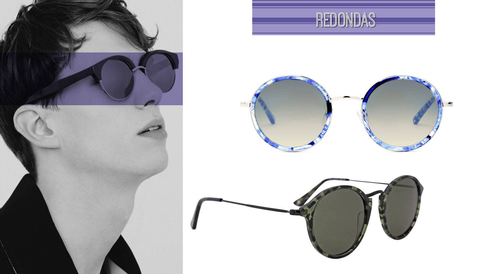 Tendencias: Metalizadas, redondas... 24 gafas de sol para una ...