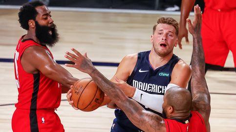 Luka Doncic hace historia en la NBA, pero pierde el duelo contra James Harden