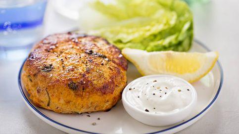 La receta para hacer unas hamburguesas (sanas) de salmón