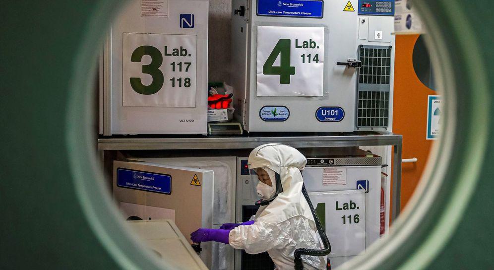 Foto: Los laboratorios trabajan sin cesar para encontrar una vacuna contra el coronavirus. (EFE)