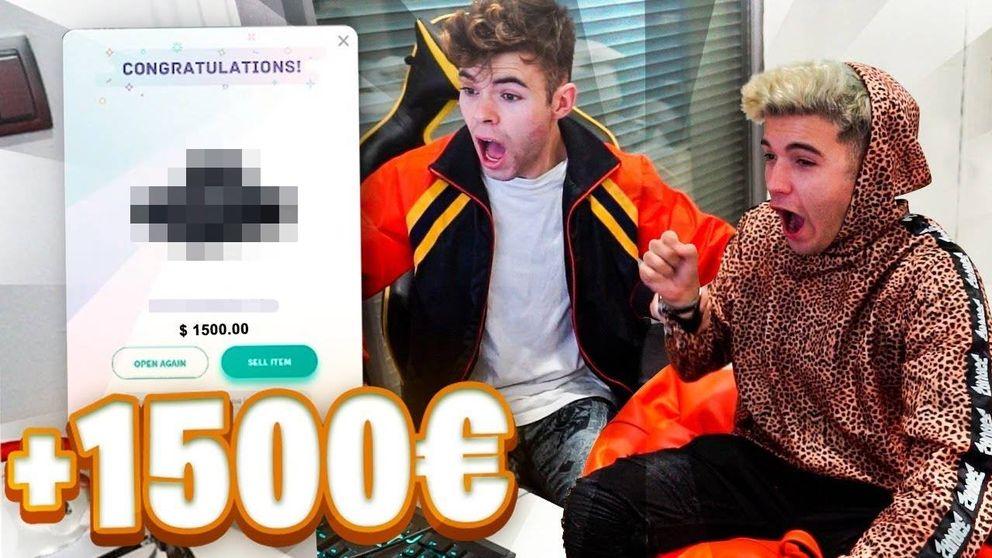 Decenas de famosos 'youtubers' españoles anuncian apuestas y 'cajas sorpresa' ilegales
