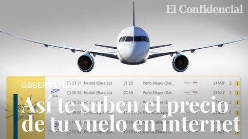 Borrar 'cookies' y cambiar la IP no sirve: así te suben el precio de los billetes de avión