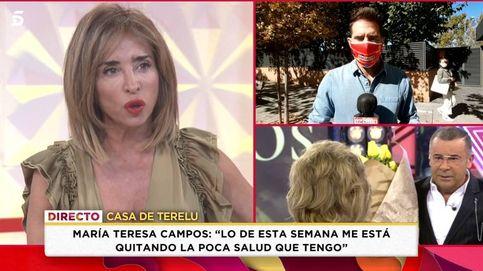 Teresa Campos rompe su silencio con Patiño tras su guerra con Jorge Javier