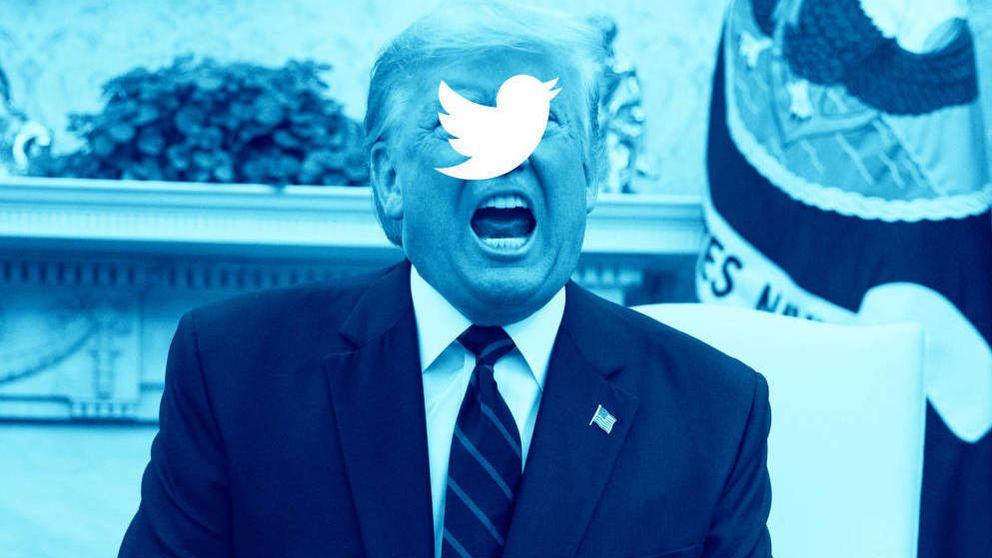 Twitter vuelve a ocultar un mensaje de Trump por comportamiento abusivo
