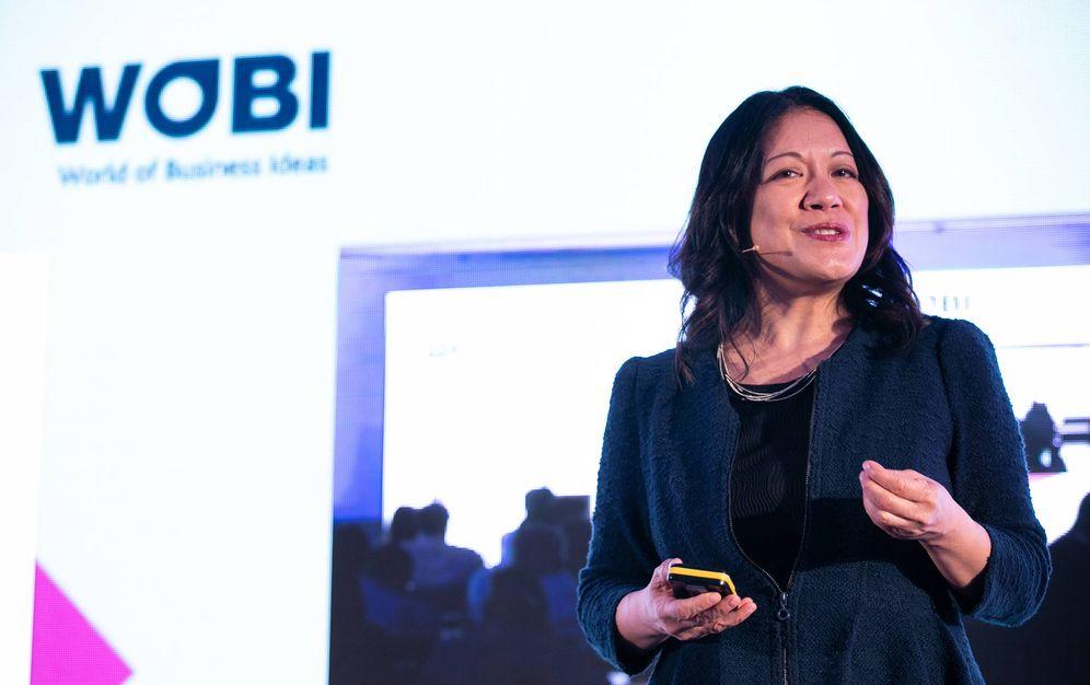 Foto: Charlene Li, una de las ponentes del WOBI sobre transformación digital.