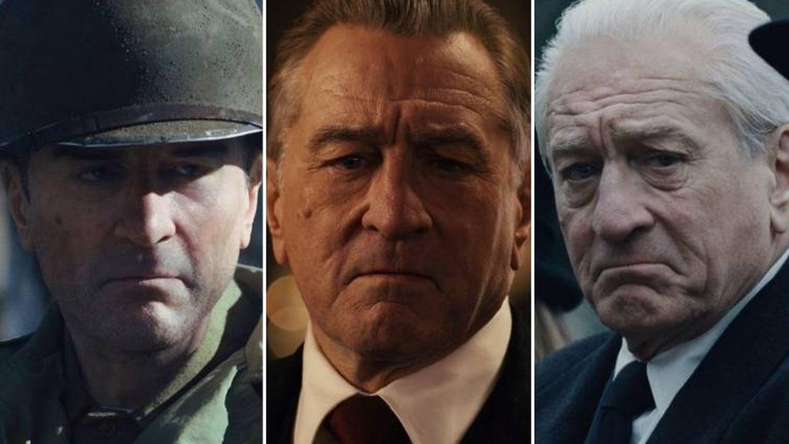 Foto: Fotogramas de la película 'The Irishman'. (Netflix)