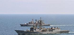 Post de Rusia vigila de cerca buques de la OTAN (uno de ellos español) en el Mar Negro
