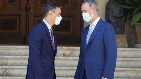 Sánchez elogia a Felipe VI y elude mencionar a Juan Carlos para defender la Corona