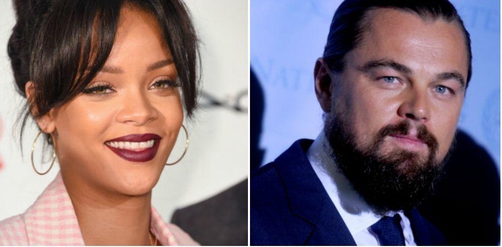 Foto: Rihanna y Leonardo DiCaprio podrían haber empezado un romance (Gtres)
