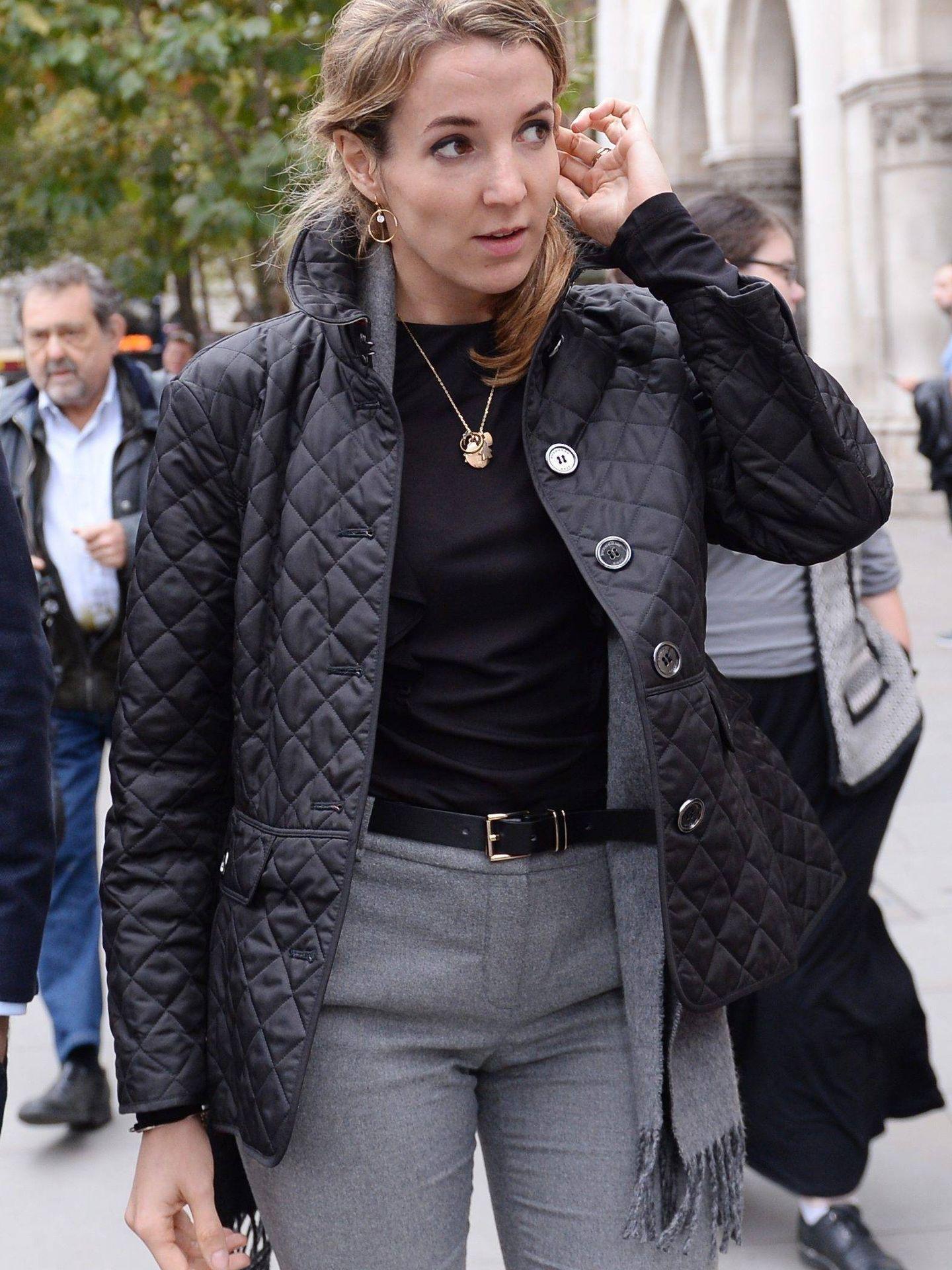 Tessy de Luxemburgo, durante el juicio de divorcio. (Cordon Press)