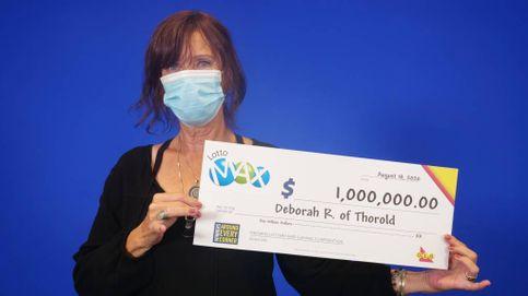 Gana 1 millón en la lotería gracias a unos números que soñó