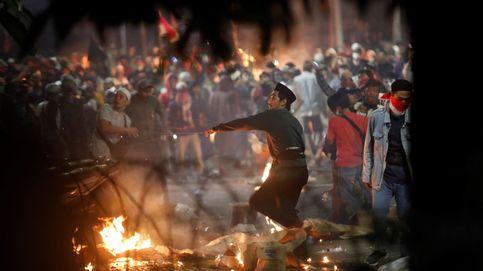 Disturbios en Yakarta tras victoria de Widodo causan 6 muertos y 200 heridos