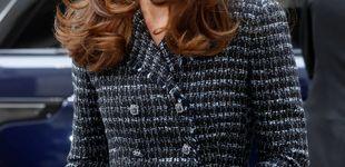 Post de Tweed, minifalda y D&G en el último acto en solitario de Kate Middleton