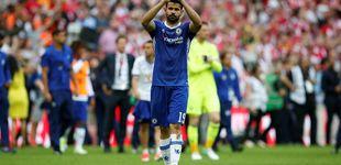 Post de El difícil puzle del Atlético para fichar a Diego Costa ahora y que debute en enero