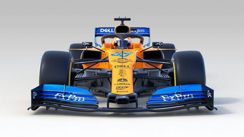 Foto: Estreno en Fórmula 1: el nuevo McLaren MCL34 de Carlos Sainz y Lando Norris