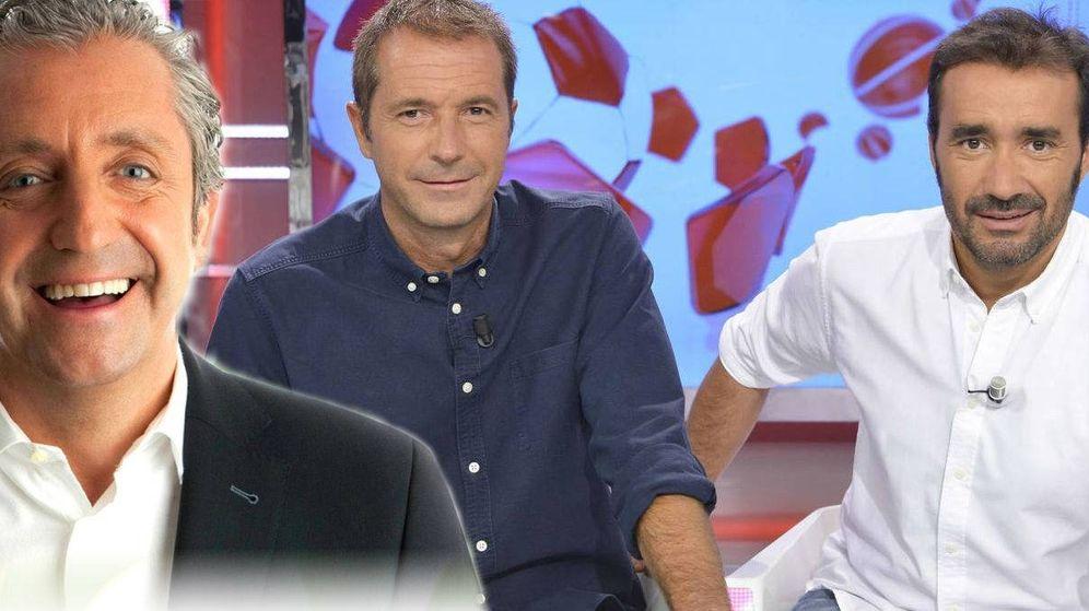 Foto: 'Deportes Cuatro' y 'Jugones', una cada vez más reñida batalla por la sobremesa deportiva.