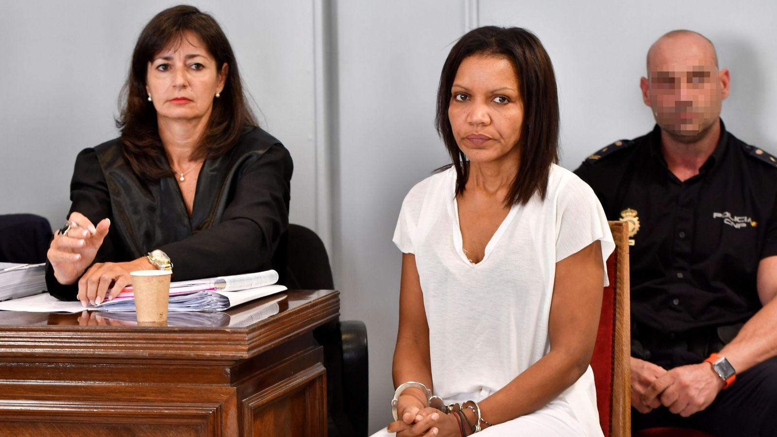 Foto: Juicio contra Ana Julia Quezada por la muerte del niño Gabriel (EFE)