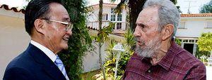 Primeras imágenes de Castro al aire libre