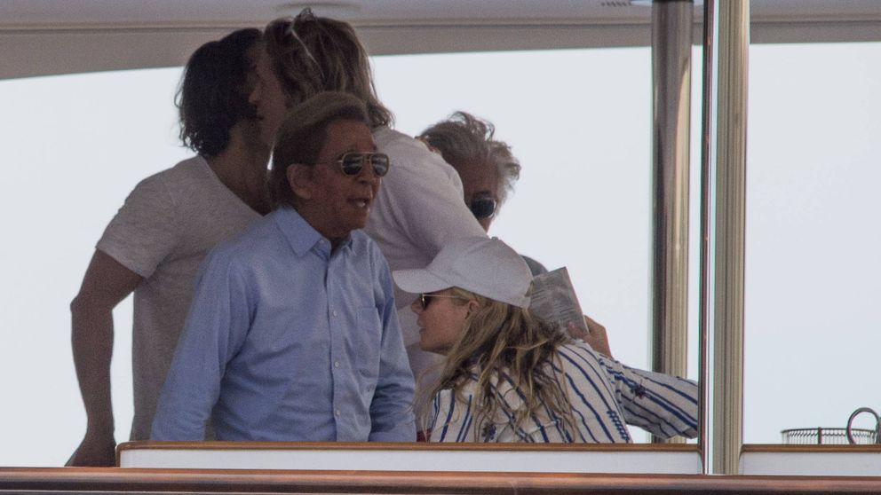 Gwyneth Paltrow y Rosario Nadal, de vacaciones por Capri junto a Valentino