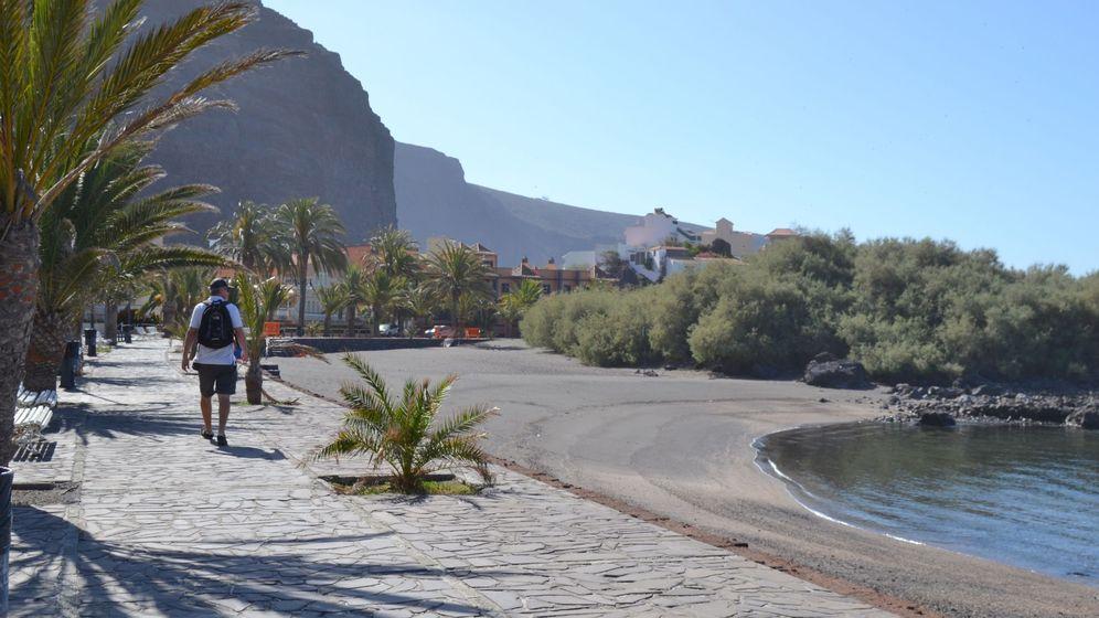Foto: El Valle Gran Rey en La Gomera. (EFE)