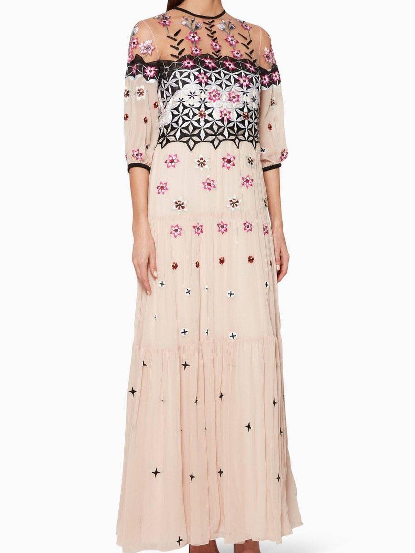 El vestido de Temperley London.