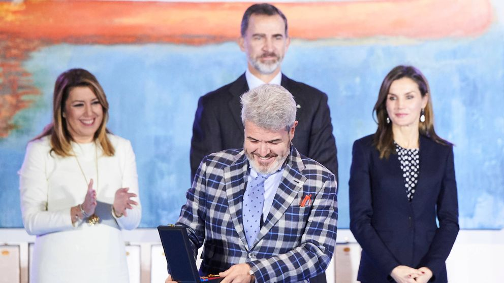 Los Reyes entregan las Medallas de Oro al Mérito de las Bellas Artes 2016 en Málaga