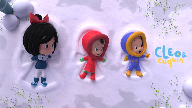 Imagen promocional de la serie de animación