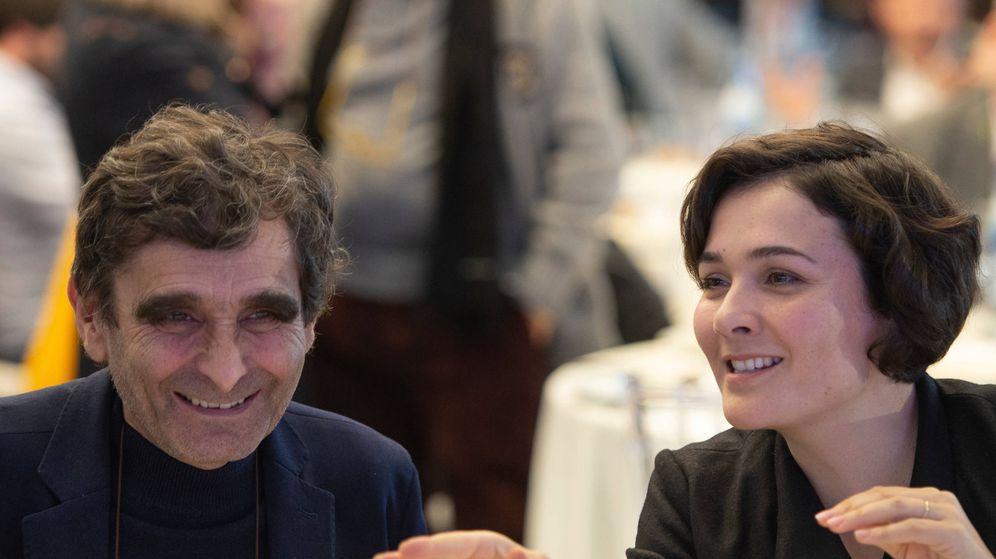 Foto: Adolfo Domínguez y su hija Adriana. (Cortesía)
