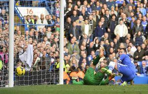 Mou mantiene el liderato con un gol marcado por Lampard a última hora
