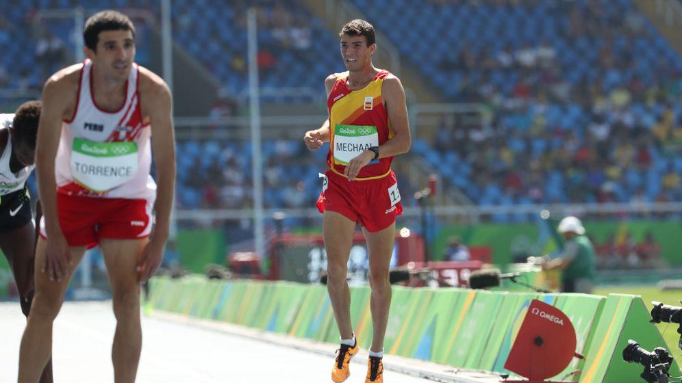Foto: Mechaal, en una prueba en los Juegos de Río (Srdjan Suki/EFE/EPA).