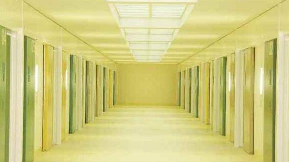 Foto: Interior de la prisión de Zaballa (Álava).