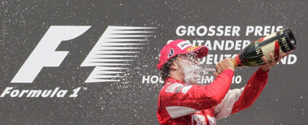 Foto: Fernando Alonso inicia su remontada en el campeonato al 'estilo Schumacher'