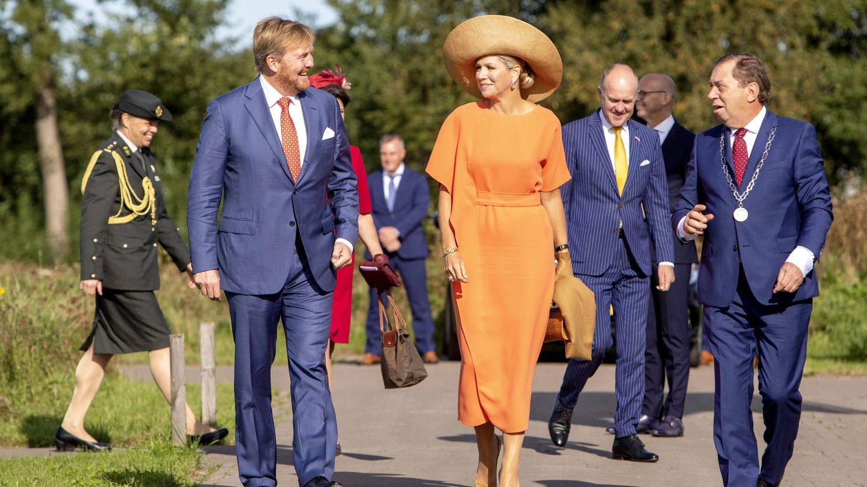 El rey Guillermo y la reina Máxima visitan Frisia. (Cordon Press)