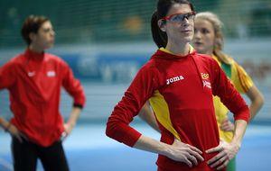 Ruth Beitia logra la medalla de bronce para una España huérfana de héroes