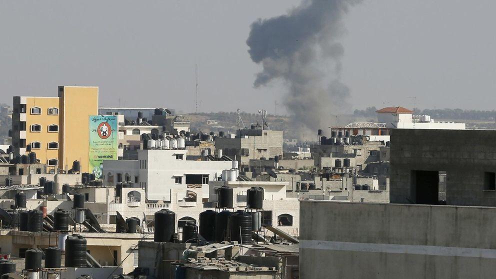 Israel bombardea Gaza en respuesta al lanzamiento de tres cohetes