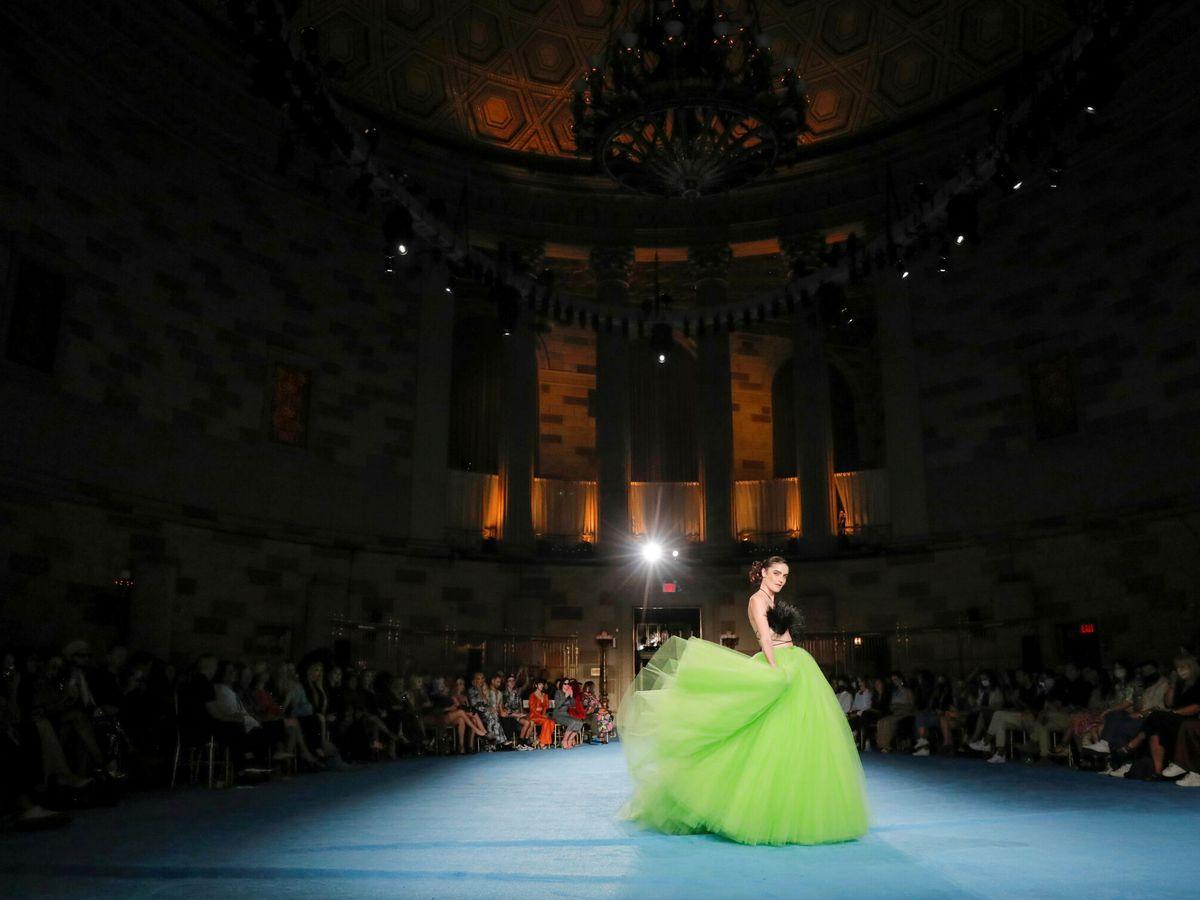 Foto: Christian Siriano Spring/Summer 2022. (Reuters)